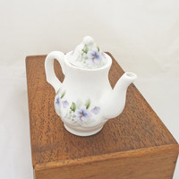 Vintage Miniature/Toy Coffee Pot, Vintage from Ashley Down, Fine Bone China, England
