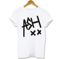 Funny shirt Screenprint T shirt Ashton Irwin - Tee - 5SOS, 5 second of summer  for T shirt mens, T shirt girl Size S, M, L, XL, XXL