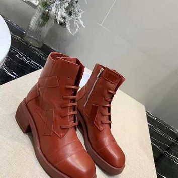 GZ  Women Casual Shoes Boots fashionable casual leather Women Heels Sandal Shoes