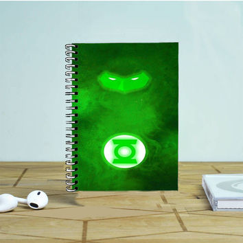 Green Lantern DC Superhero Photo Notebook Auroid