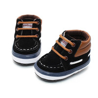 Autumn Spring Frosted Texture Soft Bottom Tassel Toddler Shoes By Hand Baby Shoes Cotton Shoes Keep Warm Lace Up First Walkers