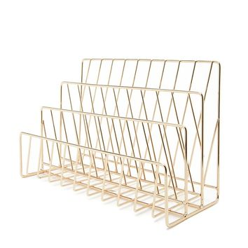 High-Polish Wire Organizer