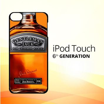 Gentleman Jack Daniels Rare Tennessee Whiskey L2167 iPod Touch 6 Case