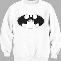 Batman Totoro Sweater for Mens Sweater and Womens Sweater *