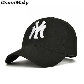 Trendy Winter Jacket Fashion Brand York NY Embroidery Letter Baseball Cap Hip Hop Caps Adjustable Hats For Men Women Dad Caps Snapback Gorras New AT_92_12