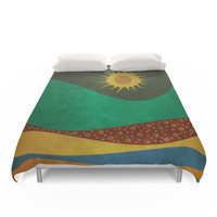 Society6 Color Under The Sun (III) Duvet Cover