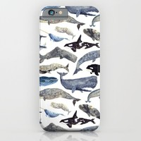 Whale Song iPhone & iPod Case by Isabelle Sykes | Society6