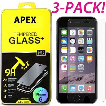 "Premium Real Tempered Glass Film Screen Protector for Apple 5.5"" iPhone 6S Plus"