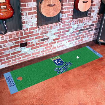 "MLB - Kansas City Royals Putting Green Runner 18""x72"""