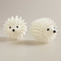Hedgehog Dryer Balls, Set of 2 - World Market