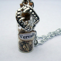 Vervain Vampire Diaries inspired chain necklace.