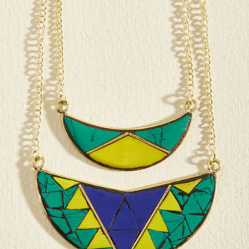 Morning, Moon, and Night Necklace | Mod Retro Vintage Necklaces | ModCloth.com
