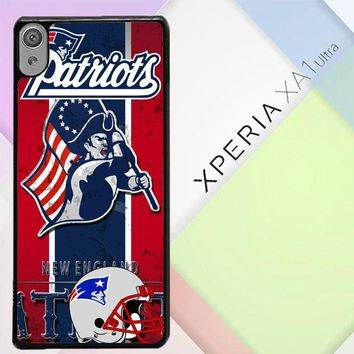 New England Patriots Z2997 Sony Xperia XA1 Ultra Case