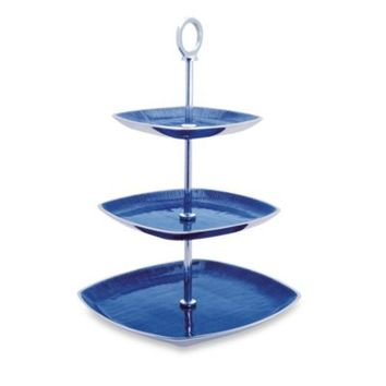Simplydesignz Bodoni Collection 3-Tier Server in Blue