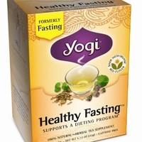 Yogi Teas, 16 Tea Bags (Pack of 6), Healthy Fasting