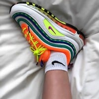 "Nike Air Max 97 ""London - On Air""Rainbow running shoes"