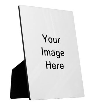 Design Your Own Custom Photo Plaque