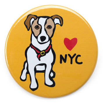 NYC Jack Russell Magnet