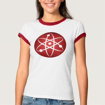 ATOM: Women's Bella+Canvas Ringer T-Shirt
