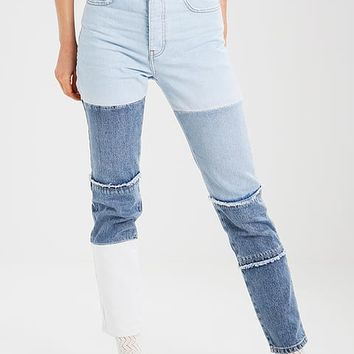 ELSA HOSK PATCHED - Slim fit jeans - blue - Zalando.co.uk