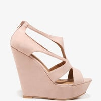 Cut-Out Platform Wedges