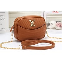 LV Fashion Hot Selling Lady's Corrugated Single Shoulder Bag