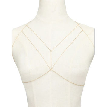 Strapped Up Body Chain Harness