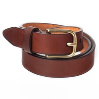 rsalbt1 - Flat Edge Leather Belt