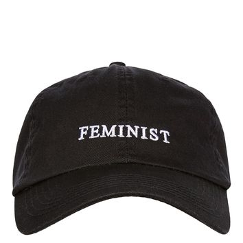 Feminist Washed Cap | Topshop
