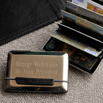 Expandable Executive Business Card Case