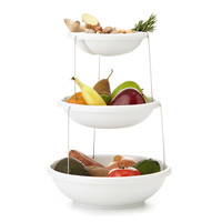 Twist Fold 3 Tiered Bowl