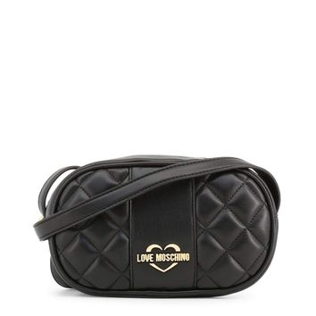 Love Moschino Jc4005Pp16La Women Black Crossbody Bags