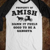 Damn it Feels Good to Be a Gangsta Amish Shirt