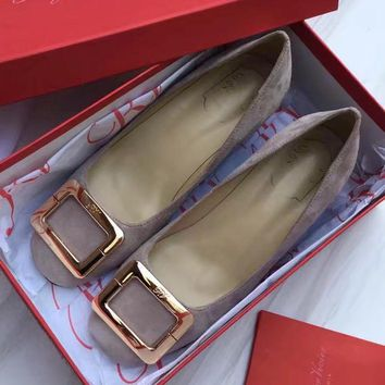 Roger Vivier Women Casual Low Heeled Shoes-1