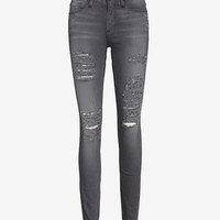 FRAME EXCLUSIVE LE RIP SKINNY: GREY