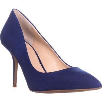 Vince Camuto Salest Pointed Toe Classic Pumps, Coastal Blue, 8.5 US / 38.5 EU