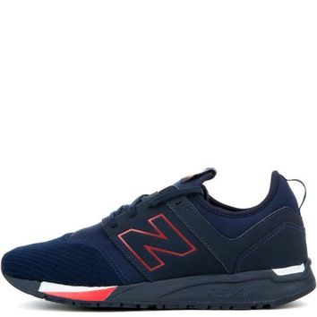 DCCK1IN new balance 247 classic navy with red men s sneaker