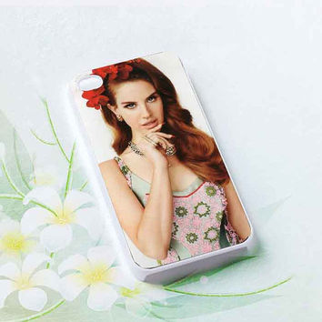 Lana Del Rey customized for iphone 4/4s/5/5s/5c, samsung galaxy s3/s4/s5 and ipod 4/5 cases