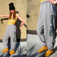 90's RUFF RIDERS DMX Gray  Baggy Hip Hop by SomeVelvetVintage
