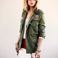 Free People Casual Thunder Jacket