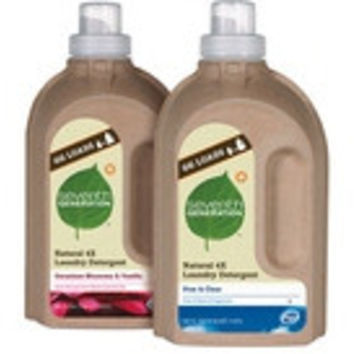 Seventh Generation Liquid Laundry, 4X Geranium and Vanilla -6x50 Oz-