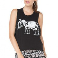 Brandy ♥ Melville |  Kate Elephant Tank - Graphic Tops - Clothing