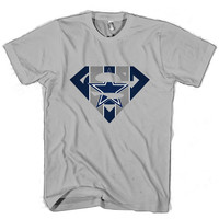 Superman dallas cowboys T Shirt Men