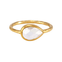 Nell Ring with Clear Stone
