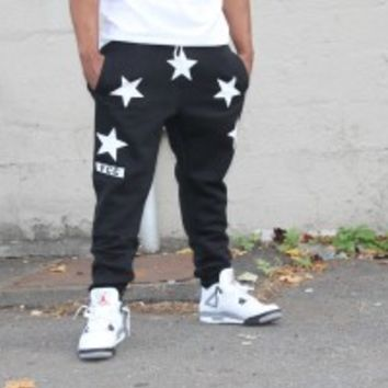FCC Givenchy Inspired Sweat Pants Black — First Class Clothing NYC