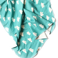 Organic Swaddle Blanket Tiffany Clouds