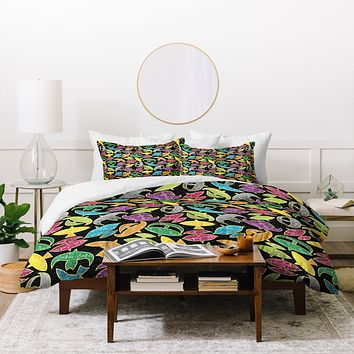 Raven Jumpo Wow Wau Duvet Cover