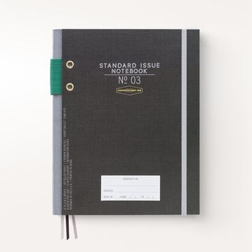 Standard Issue Notebook No. 3