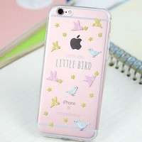 Cute Bird Cover Case for iPhone 5s 5se 6 6s Plus Gift 318-170928