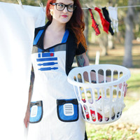 Cooking Apron costume by HauteMessThreads on Etsy